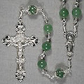 Image Link to 8-mm Semi-Precious Rosary Page
